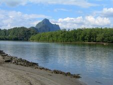 Free Approaching Thailand S Phang Nga Bay Royalty Free Stock Photos - 1454978