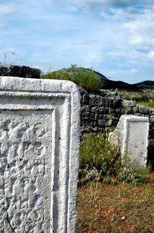Free Old Roman  Epitaphs Stock Images - 1455644