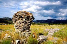 Free Roman Ruins Royalty Free Stock Image - 1455916