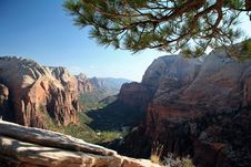 Free Angel S Landing Summit View Stock Photos - 1456053