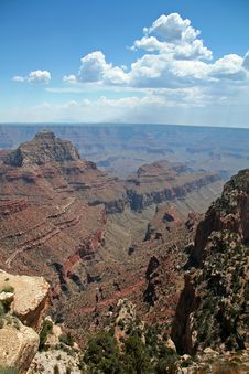 Free Grand Canyon Overlook Stock Image - 1456061