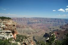 Free Wide Open Grand Canyon Scenic Royalty Free Stock Image - 1456076