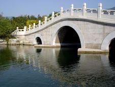 Free Stone Arch Bridge Royalty Free Stock Photos - 1457048