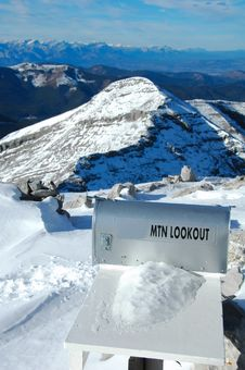 Mountain Lookout Stock Images