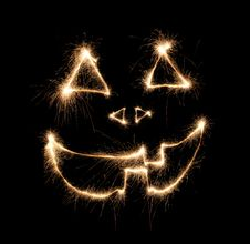 Free Halloween Sparkler Stock Photography - 1459252