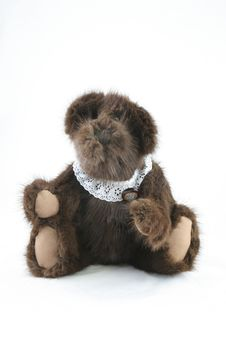 Free Antique Brown Teddy Bear Stock Image - 1459931