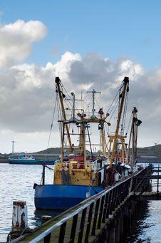 Free Fishing Ships Royalty Free Stock Image - 1459946
