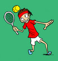 Free Tennis Player Royalty Free Stock Images - 14506249