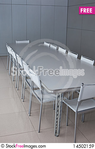 Meeting room Stock Photo