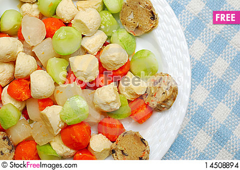 Free Variety Of Healthy Vegetables Stock Images - 14508894