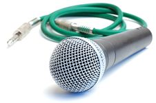 Free Microphone Royalty Free Stock Photography - 14500157
