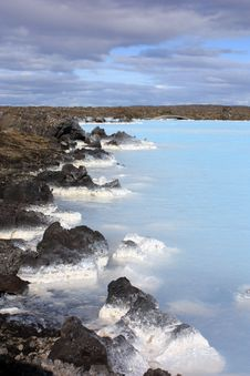 Free Blue Lagoon In Iceland Stock Images - 14500654