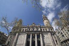 Free Post Office Barcelona Royalty Free Stock Photos - 14500668