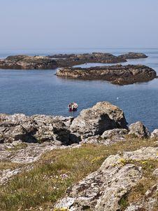 Free Anglesea Wales Coastal Path Sea View Stock Photo - 14500920