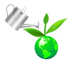 Free Green Globe Royalty Free Stock Images - 14501329