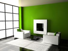 Free Living Room Royalty Free Stock Image - 14502346