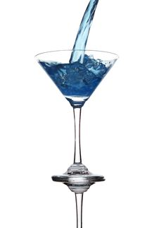 Free Martini Splash Stock Images - 14502534