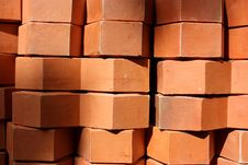 Free Pile Of Bricks Royalty Free Stock Photography - 14504067