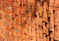 Free Pile Of Bricks Stock Image - 14504091