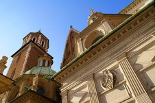 Free Wawel Royal Castle In Cracow Stock Photography - 14504462