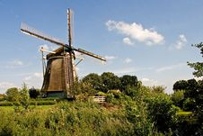 Free Old Rembrandts Windmill Royalty Free Stock Photos - 14504868
