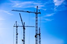 Free The Crane Elevating Stock Photos - 14505433