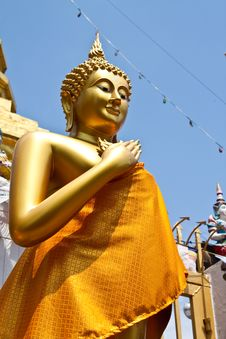 Friday Buddha Image Stock Photo