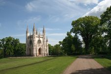 Free GOTHIC CHAPEL IN PETERHOF Royalty Free Stock Images - 14505709