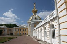 Free The Fragment Of Peterhof Great Palace Facade Stock Photography - 14505872