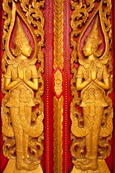 Free Thai Style Sculpture Stock Image - 14506111
