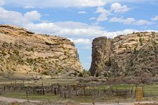 Free Devil S Gate, Wyoming Royalty Free Stock Image - 14506216