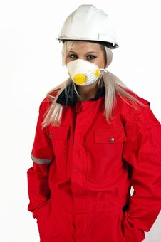 Free Construction Worker Women Royalty Free Stock Photography - 14506767