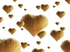Coffe Love Texture Stock Photo