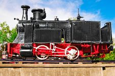Free Old Locomotive Royalty Free Stock Photo - 14507625