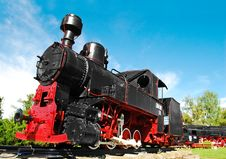 Free Old Locomotive Royalty Free Stock Photography - 14507637