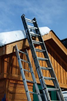 Free Ladders Royalty Free Stock Photo - 14507985