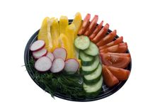 Salad S Ingredients Royalty Free Stock Photography