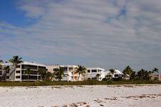 Free Oceanfront Beach Condominium Royalty Free Stock Image - 14508446