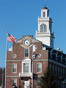 Free Town Hall, Weymouth MA Stock Images - 14508454