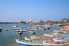 Free Vizhinjam Fishing Vessels Stock Photography - 14508632