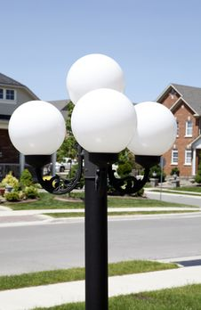 Free Outdoor Light Post Royalty Free Stock Image - 14508836