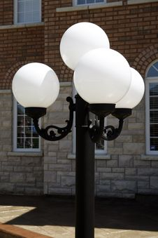 Free Outdoor Light Post Royalty Free Stock Photography - 14508837