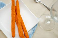 Free Nutritious Tomato Sticks Snack Stock Photos - 14508863
