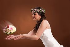 Free Young Bride Royalty Free Stock Photo - 14509075