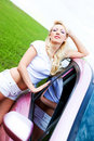 Free Girl With Her Car Royalty Free Stock Photography - 14513847