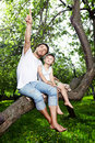 Free Sitting On A Tree Stock Photo - 14514710