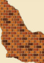 Free Grunge Brown Brick Wall Plaster Royalty Free Stock Photography - 14518927