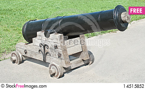 Free Old Cannon Stock Photography - 14515852