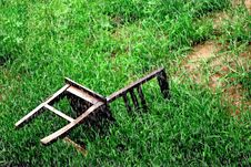 Free Chair On The Ground Stock Photo - 14510110
