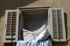 Free Window With Bedclothes Stock Photos - 14510203